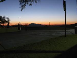 En el área de descanso del I-15 N