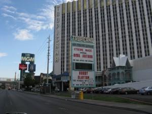 Llegando a Las Vegas.
