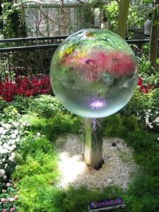 Bola de agua, Bellagio.