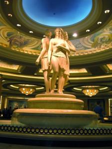 En el Caesars Palace.