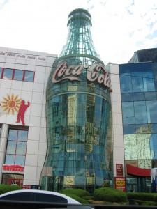 Botella de Coca-Cola.