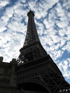 Mini Torre Eiffel, París Las Vegas.