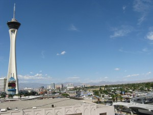 Stratosphere, visto desde el hotel.