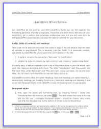 LibreOffice Styles Tutorial (click to download)